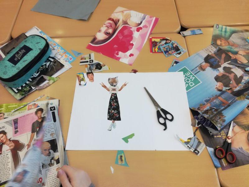 Kreatives aus dem Französischunterricht
